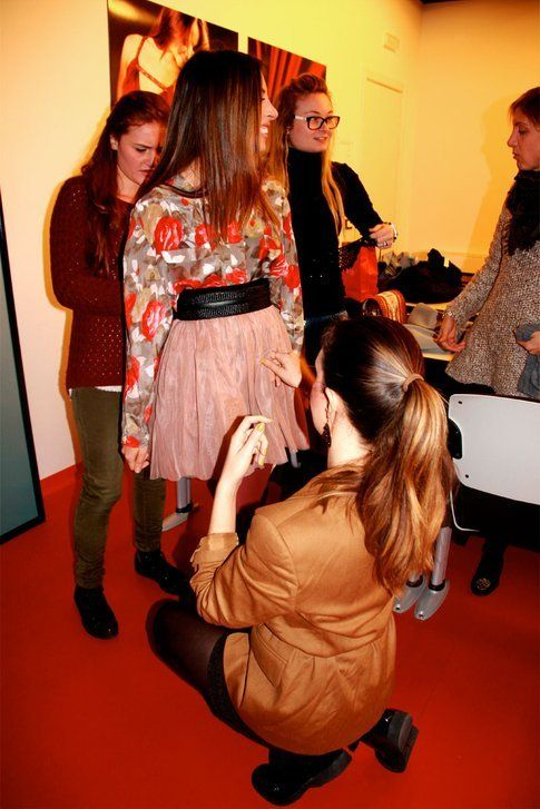 backstage shooting Accademia del Lusso, ph Federica Nardelli