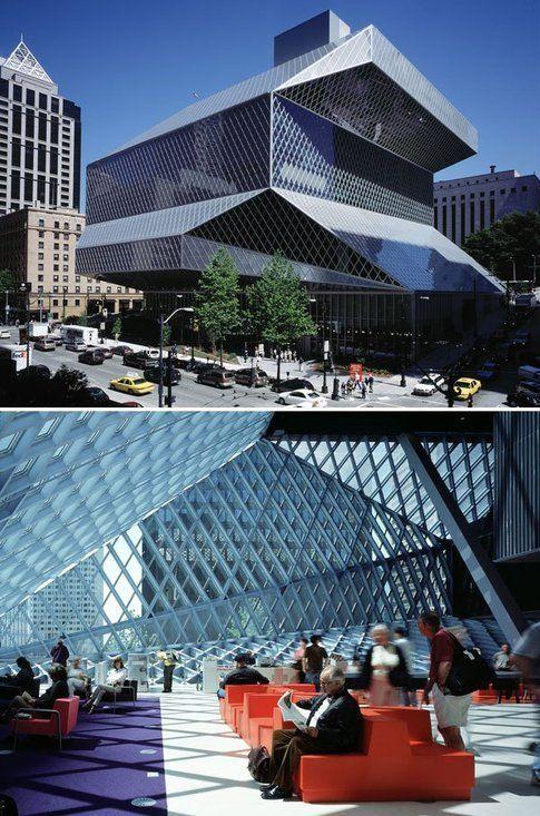 Biblioteca centrale di Seattle, Canada