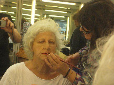 Elisa Calcinari all'opera con Angela Finocchiaro
