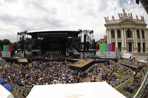 Piazza S. Giovanni, Primo Maggio 2012 - foto primomaggio.com