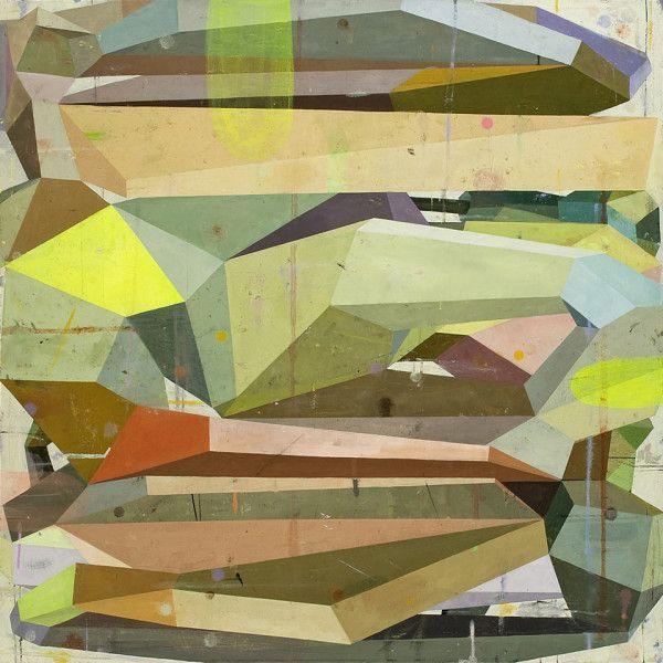 La pittura geometrica di Deborah Zlotsky