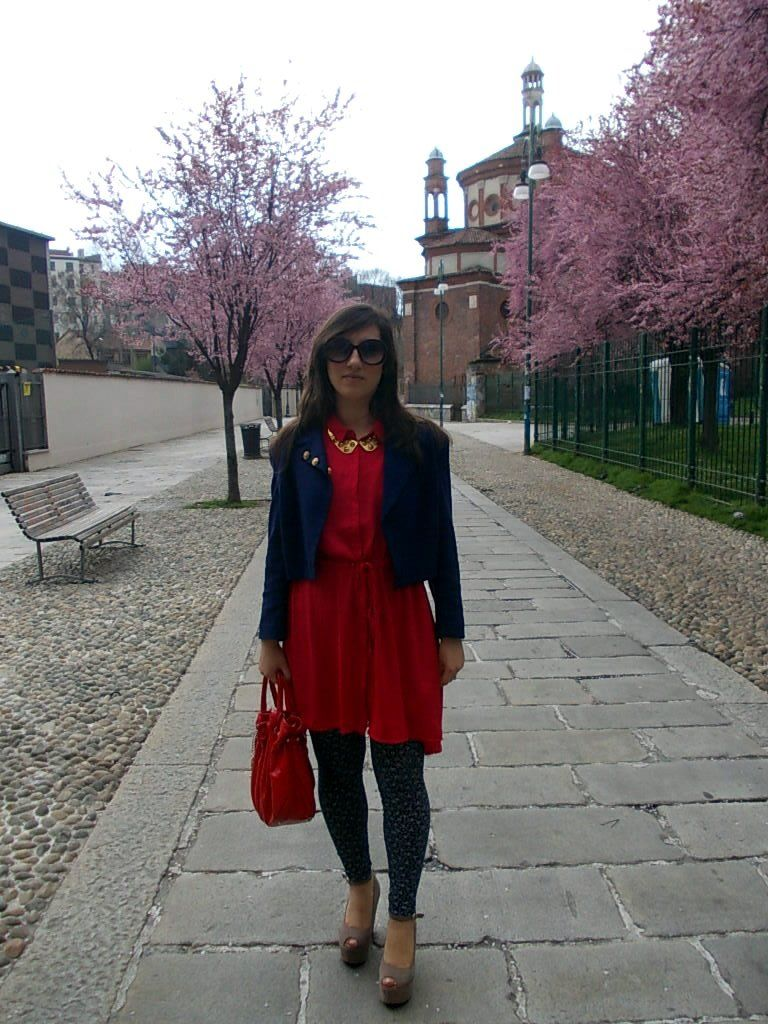 Outfit Red e Blu 1