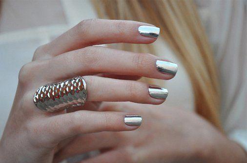 manicure glitterata