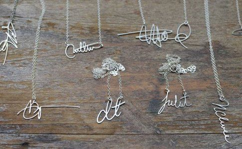 Brevity: signature necklaces