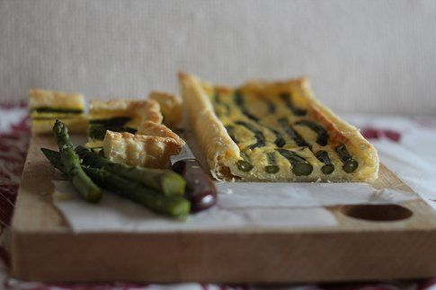 torta agli asparagi e robiola: sapore di primavera