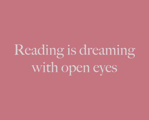 Leggere è sognare con gli occhi aperti