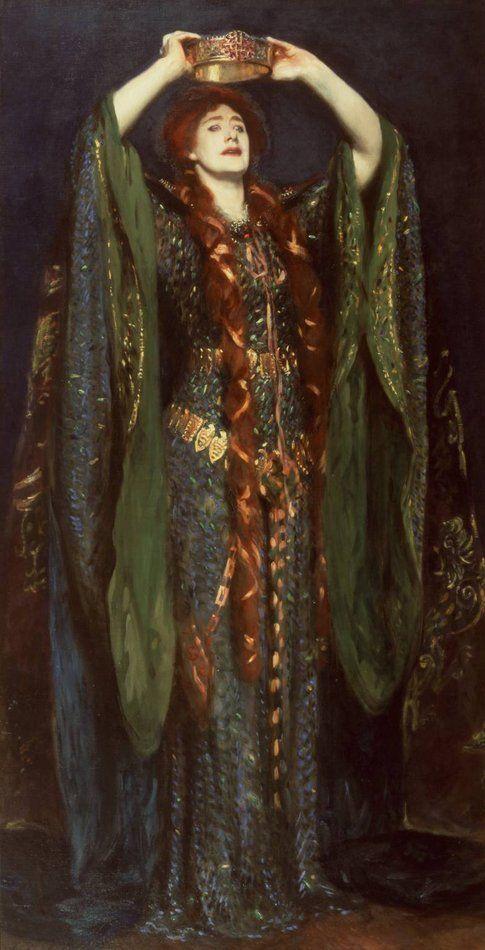 Ellen Terry come Lady Macbeth, John Singer Sargent, 1889
