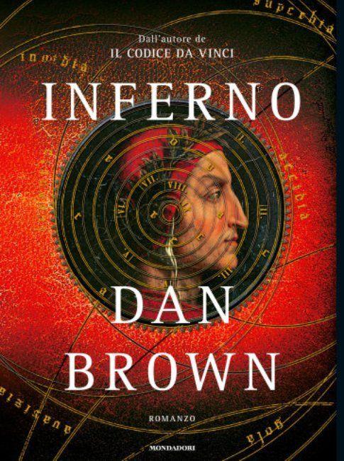 "Copertina de ""Inferno"" di Dan Brown - foto da pagina ufficiale Mondadori"