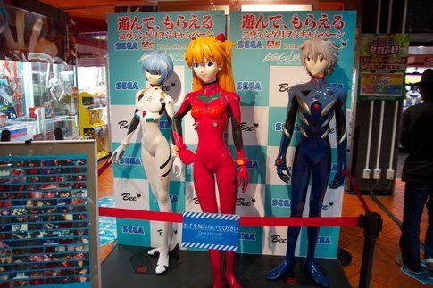 Personaggi di un anime - Foto di Marcello Barnaba