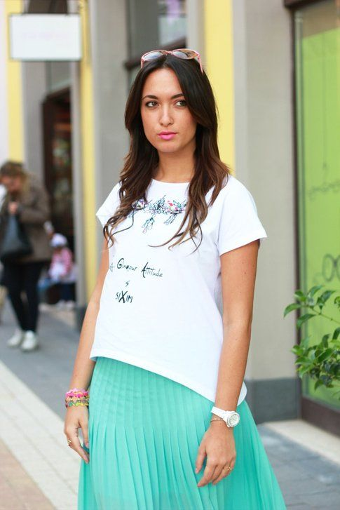 l'outfit di Mariagiovanna Abagnale