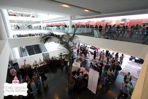 Lo Sheraton Malpensa che ospita il Cake Design Festival