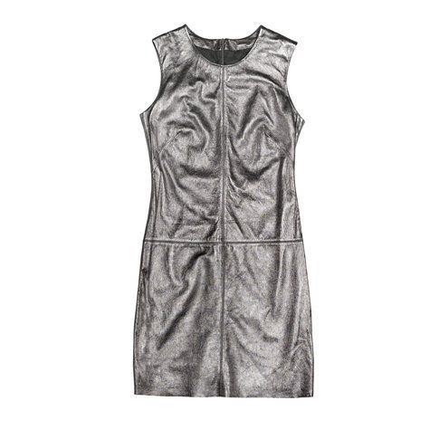 Tubino metallizzato Zara, fonte Zara