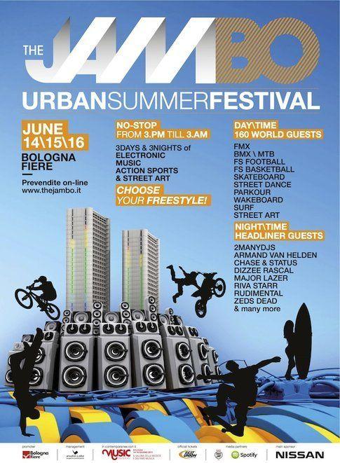 3 giorni di musica, sport ed Urban Art