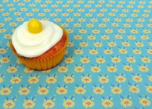 Muffin con crema fresca al limone