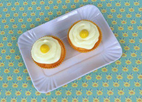 Muffin al limone con crema fresca al limone