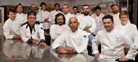 Gli chef dei 14 ristoranti del Taste of Milano (credits image Carlo Fico)