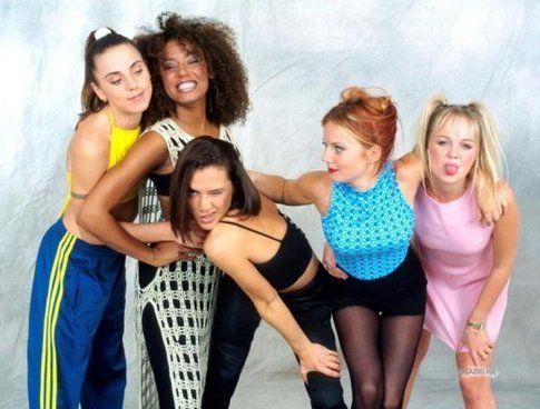 Spice girls negli anni 90