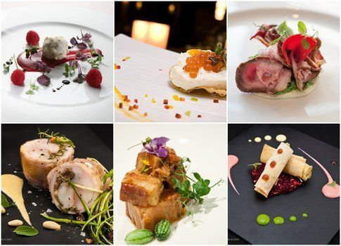 Mix di piatti realizzati al Taste of Milano