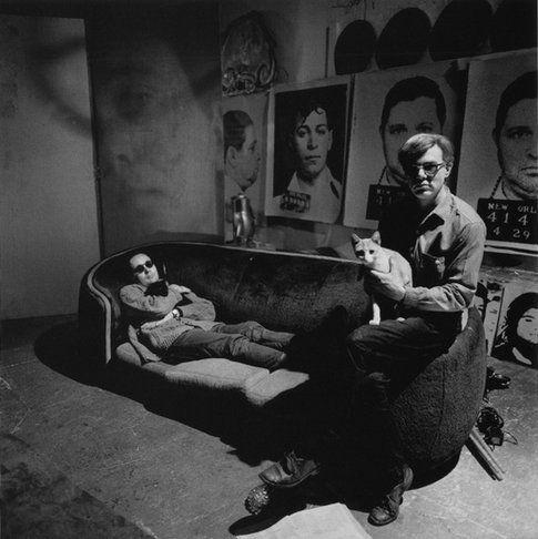 il gatto e Andy Warhol