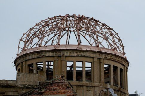 Dettaglio Cupola dell'A-Bomb Dome - Foto di Simona Forti