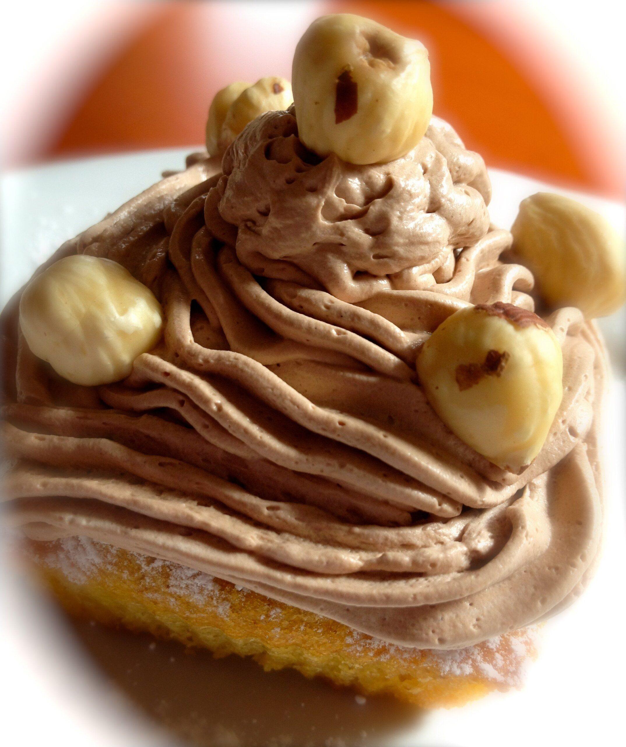 cupcake alle nocciole ricetta