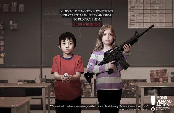 armi ai bambini in america