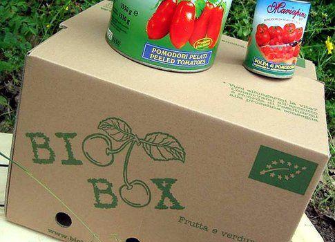 Bio Box, frutta e verdura bio, con consegna nel centro Italia