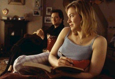Una scena di Bridget Jones - foto da movieplayer.it