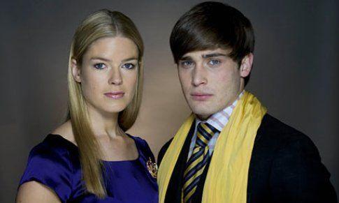 Isabella Calthorpe e Christian Cooke - foto Guardian.co.uk