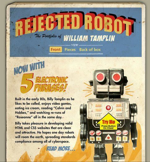 Rejected robot