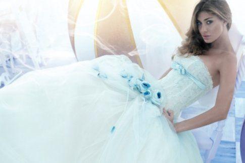 Foto in abito da sposa