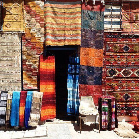 Negozio di tappeti, Essaouira