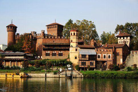 Borgo medievale di Torino - Courtesy of Mappamondo.es
