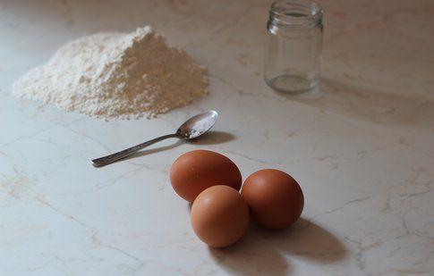 gli ingredienti della pasta fatta in casa