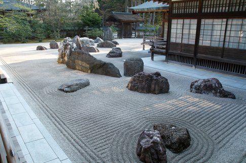 Giardino Zen all'interno di un Tempio - Foto di Marcello Barnaba