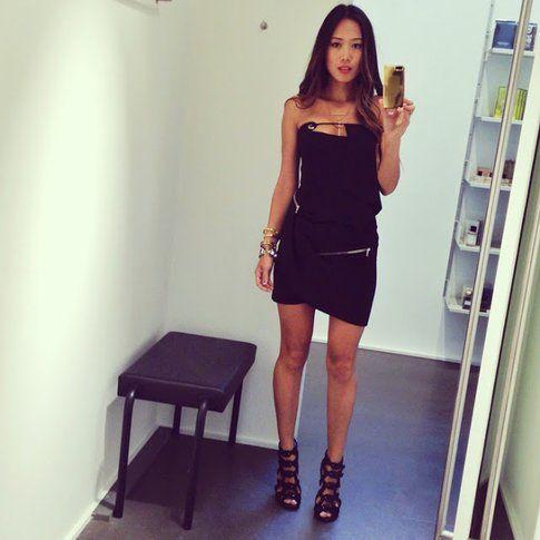 """""""Little Black Dress"""" - fonte songofstyle.blogspot.it"""