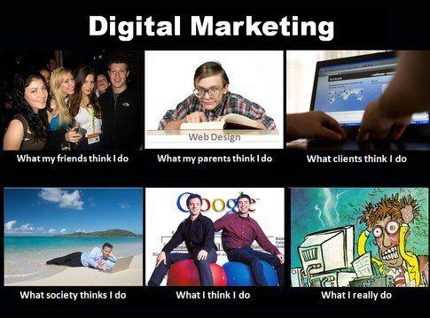 Il lato ironico del digital marketing: un meme. (fonte foto: brownstonecambridge.wordpress.com)