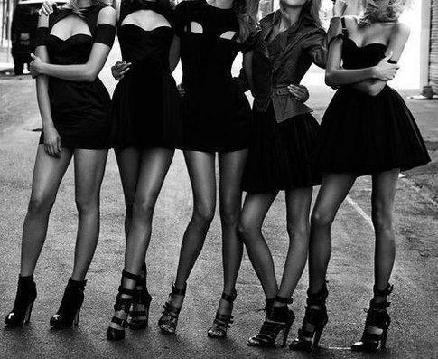 """Little Black Dress"" - fonte tumblr.com"