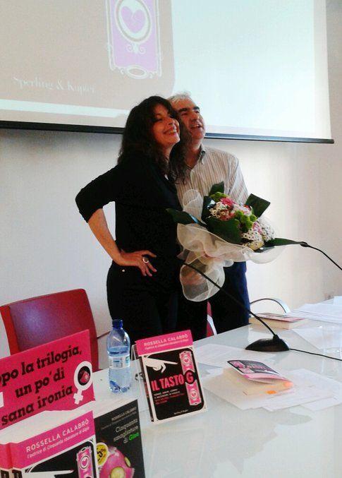 Rossella Calabrò e Luca Mangoni - foto da Bigodino.it