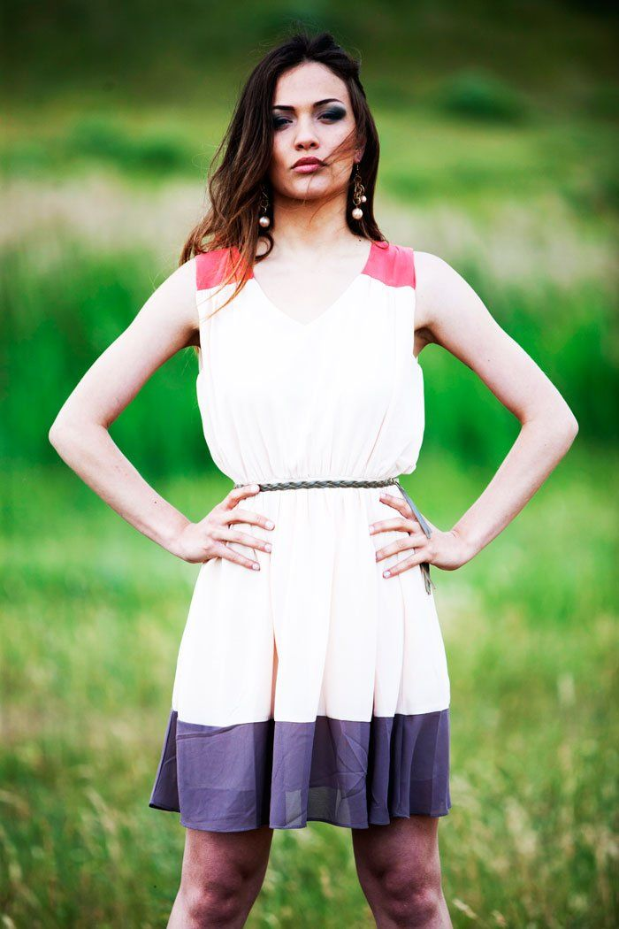 Dress tricolore AngelEye London PH Ennio Tullo