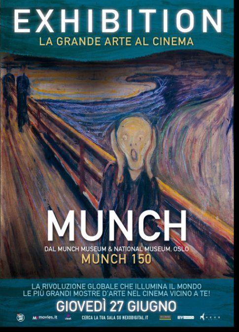 Locandina Munch 150 - immagine da sito ufficiale Nexo Digital