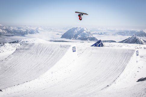 Dachstein durante l'inverno. Foto di superparks.at