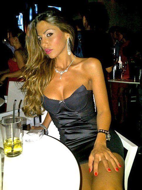 Barbara Guerra in versione elegante