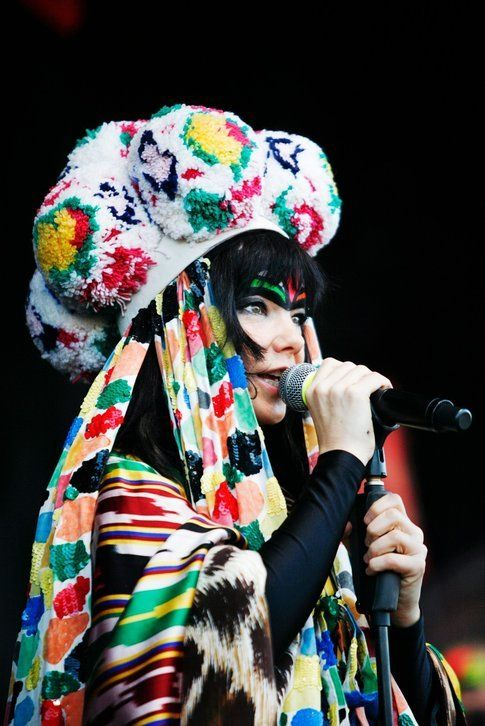 Björk - foto di Hörður Sveinsson concessa da ufficio stampa ONO Arte