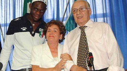 I genitori di Balotelli