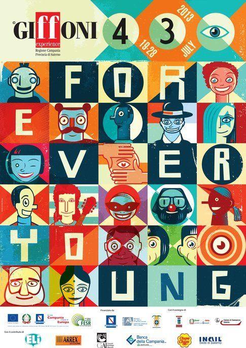 Manifesto Giffoni Film Festival 2013 - foto da area press sito ufficiale