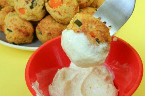 Salsina con yogurt greco e curry, fresca e speziata