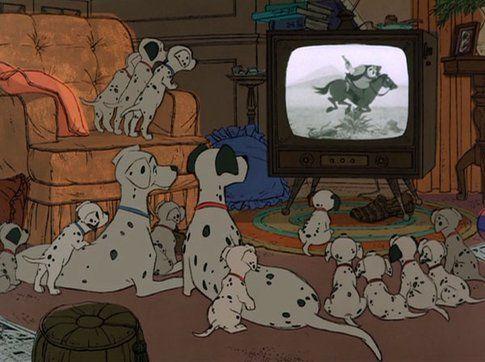 """Scena de """"La carica dei 101"""" - immagine da movieplayer.it"""