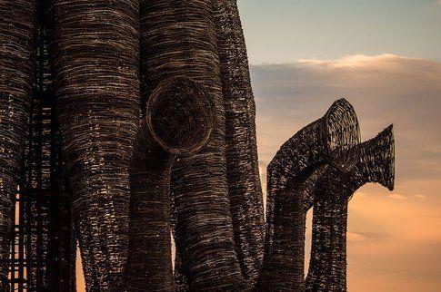 Scorcio del Beaubourg di Nikolay Polissky