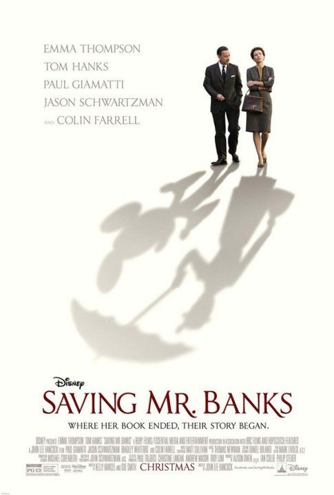 "La locandinda di ""Saving Mr. Banks""- foto da movieplayer.it"